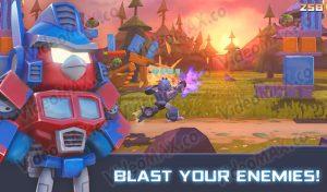 Angry Birds Transformers Mod Apk 1